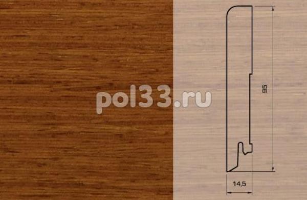 Плинтуса и пороги Pedross Шпонированный 95/15мм Дусси seg100