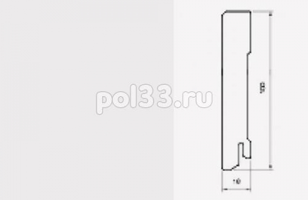 Плинтуса и пороги Pedross коллекция White MDF 70 mm 5912