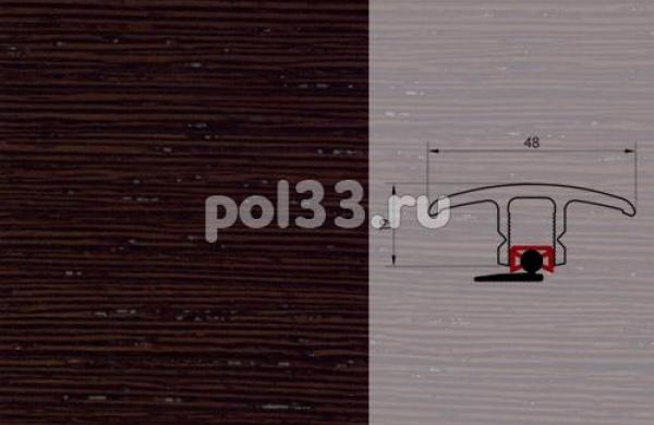 Плинтуса и пороги Pedross Молдинг шпонированный универсальный Венге ориджинал
