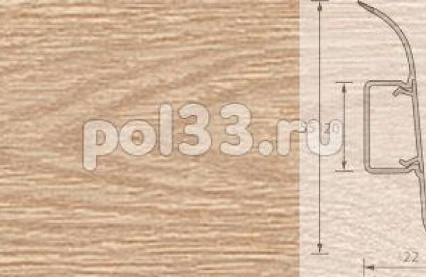 Плинтус Ideal Комфорт 216 Дуб сафари