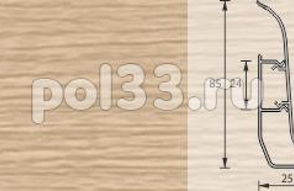 Плинтус Ideal Элит-Макси 271 Сосна