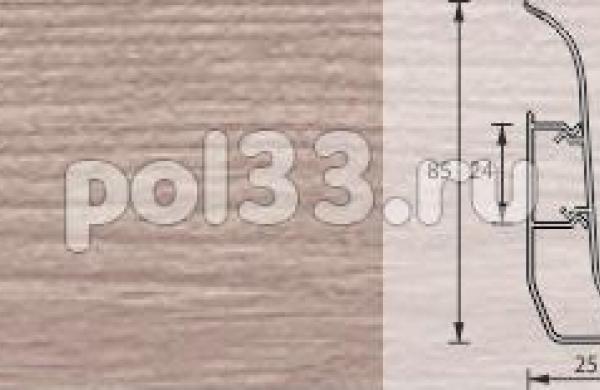 Плинтус Ideal Элит-Макси 215 Дуб снежный