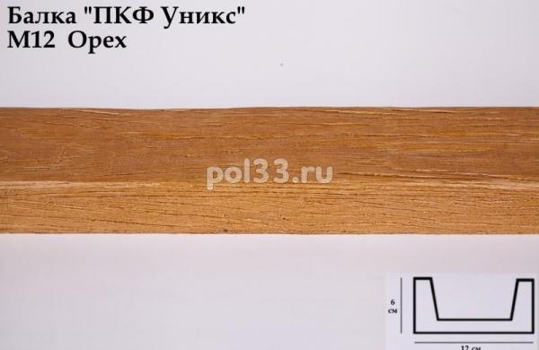 Балка декоративная Уникс Модерн М12 Окрашенная Орех
