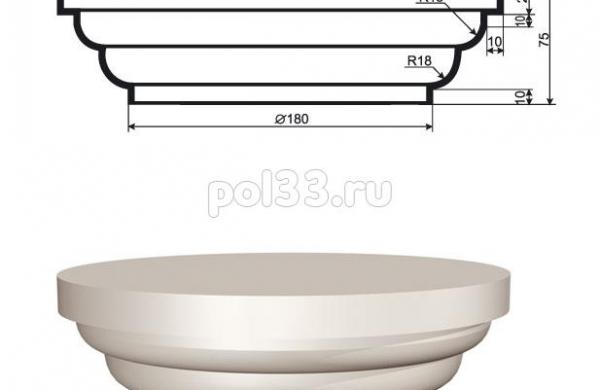 Колонна Lepninaplast (Лепнинапласт) 2-КЛВ-155-1
