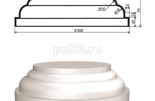Колонна Lepninaplast (Лепнинапласт) 2-КЛВ-155-4