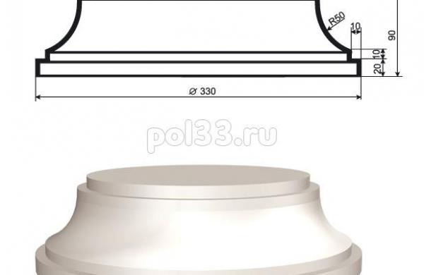 Колонна Lepninaplast (Лепнинапласт) 2-КЛВ-205-4