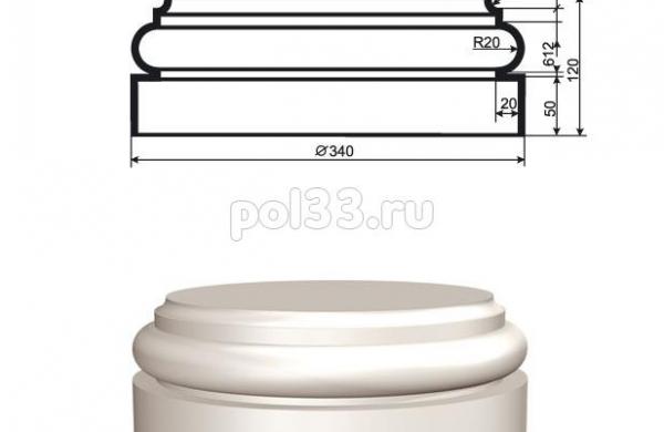 Колонна Lepninaplast (Лепнинапласт) 2-КЛВ-255-4
