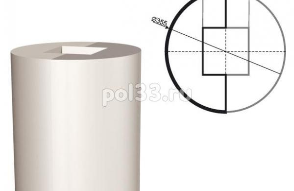 Колонна Lepninaplast (Лепнинапласт) 2-КЛВ-355-2 2000 мм