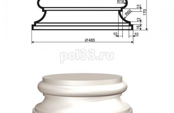 Колонна Lepninaplast (Лепнинапласт) 2-КЛВ-355-4