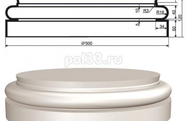 Колонна Lepninaplast (Лепнинапласт) 2-КЛВ-405-4