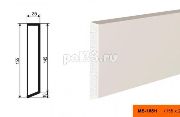 Молдинг Lepninaplast (Лепнинапласт) МВ-155-1