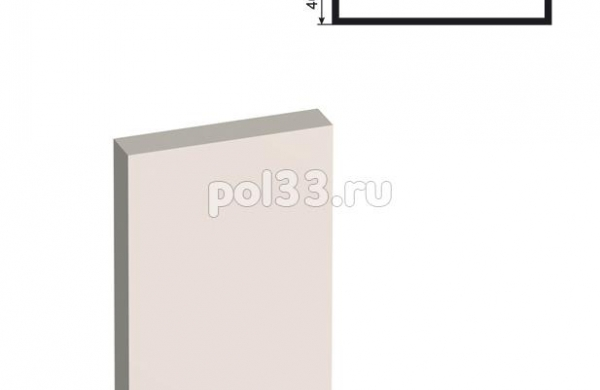 Пилястра Lepninaplast (Лепнинапласт) ПЛВ-200-2 2500 мм