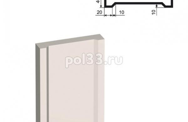 Пилястра Lepninaplast (Лепнинапласт) ПЛВ-200-4 2500 мм