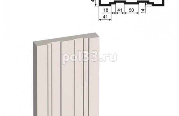 Пилястра Lepninaplast (Лепнинапласт) ПЛВ-250-3 2000 мм