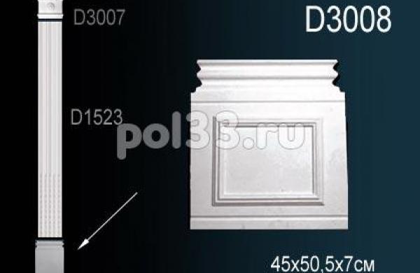 Лепной декор Perfect Пилястры D3008