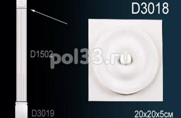 Лепной декор Perfect Пилястры D3018