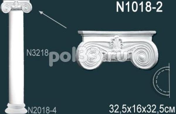 Лепной декор Perfect Полуколонна N1018-2