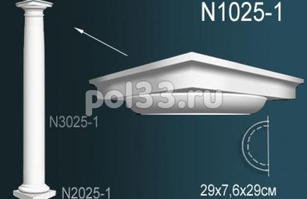 Лепной декор Perfect Полуколонна N1025-1
