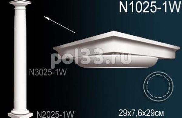 Лепной декор Perfect Колонна N1025-1W