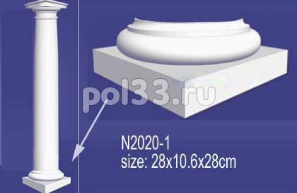 Лепной декор Perfect Полуколонна N2020-1