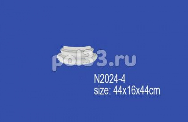 Лепной декор Perfect Полуколонна N2024-4