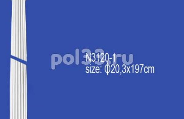 Лепной декор Perfect Полуколонна N3120-1
