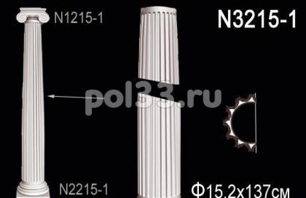 Лепной декор Perfect Полуколонна N3215-1