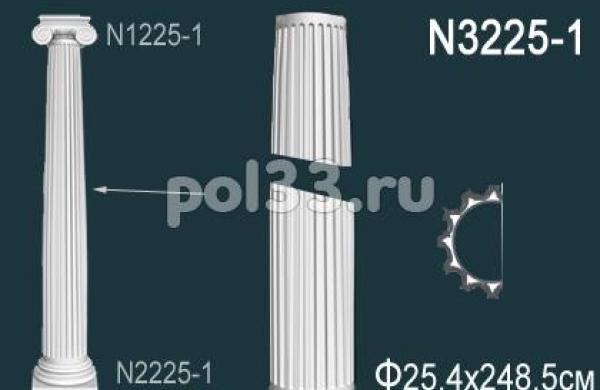 Лепной декор Perfect Полуколонна N3225-1