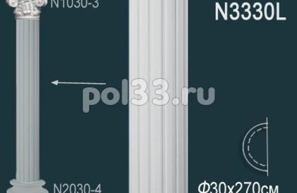 Лепной декор Perfect Полуколонна N3330L