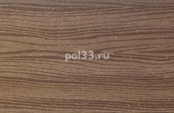 Универсальная доска ДПК Holzhof шовная Коричневый