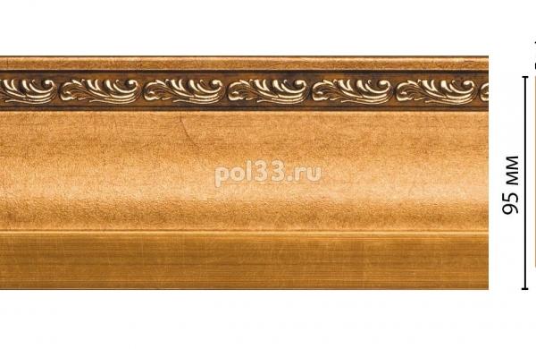 Плинтус из дюрополимера Decomaster 153-1223