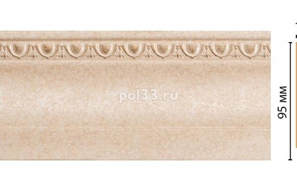 Плинтус из дюрополимера Decomaster 153-18D