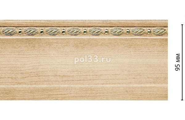 Плинтус из дюрополимера Decomaster  195-11