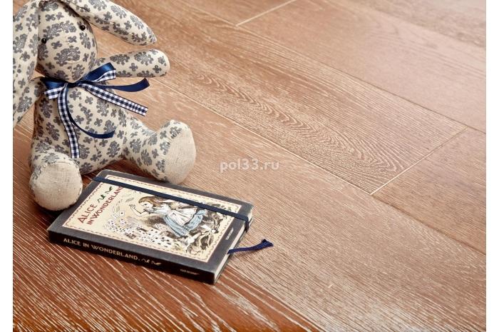 Паркетная доска Goodwin  Дуб брашированный Роха