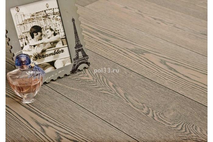 Паркетная доска Goodwin  Ясень брашированный Грау