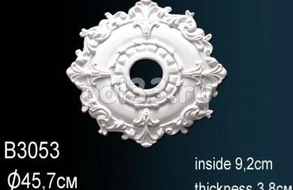 Лепной декор Perfect Розетка B3053