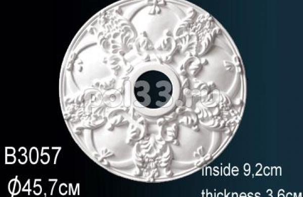 Лепной декор Perfect Розетка B3057