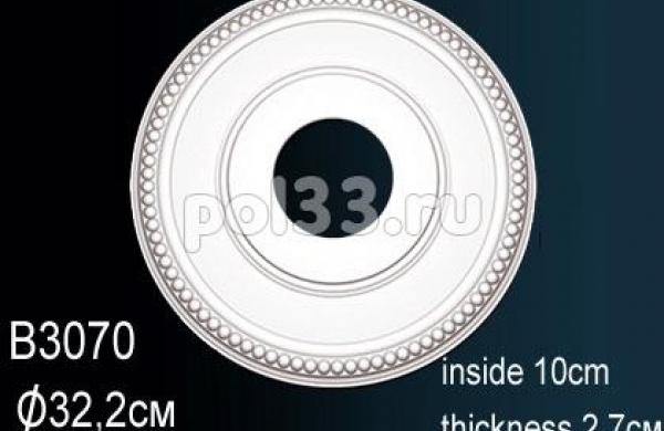 Лепной декор Perfect Розетка B3070