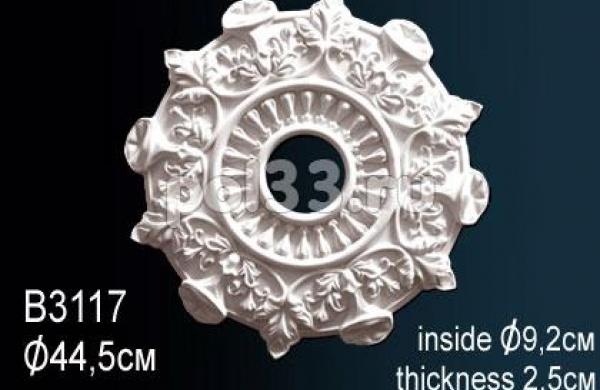 Лепной декор Perfect Розетка B3117
