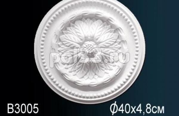 Лепной декор Perfect Розетка B3005