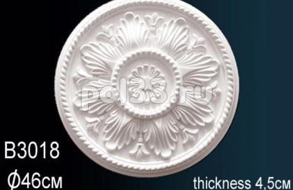 Лепной декор Perfect Розетка B3018