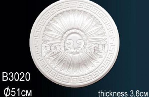 Лепной декор Perfect Розетка B3020