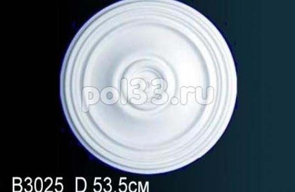 Лепной декор Perfect Розетка B3025