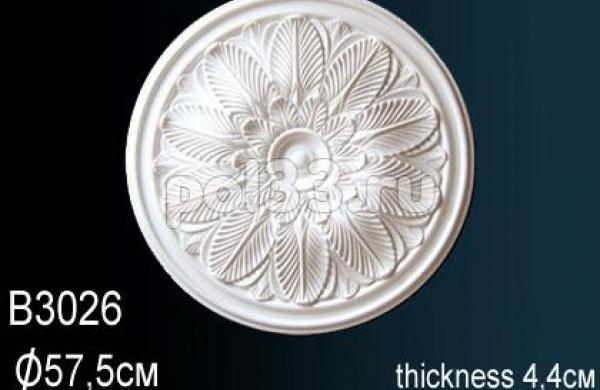 Лепной декор Perfect Розетка B3026