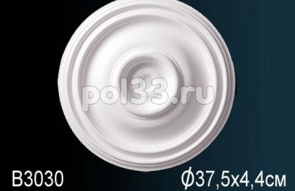 Лепной декор Perfect Розетка B3030