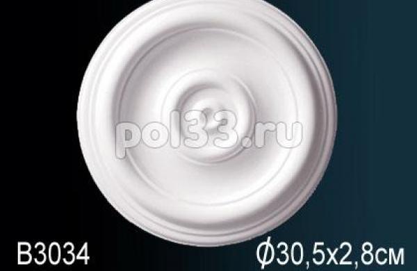 Лепной декор Perfect Розетка B3034