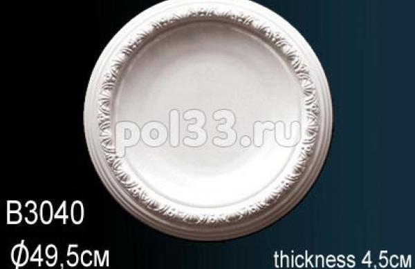 Лепной декор Perfect Розетка B3040
