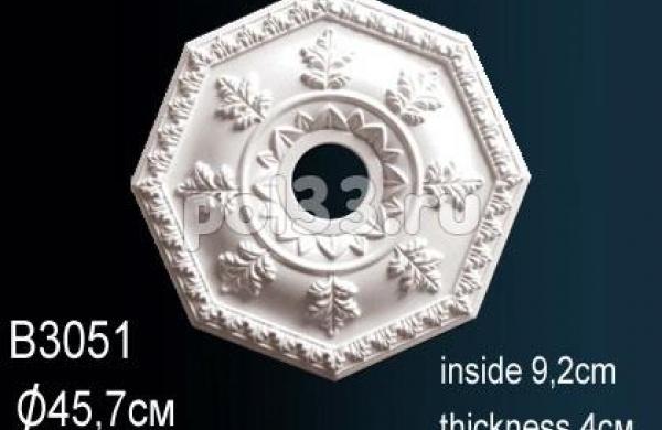 Лепной декор Perfect Розетка B3051